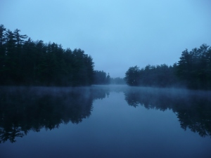 Pennichuck Pond on a Quiet Morning